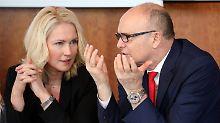Schwesig soll Meck-Pomm regieren: Sellering tritt als Ministerpräsident zurück
