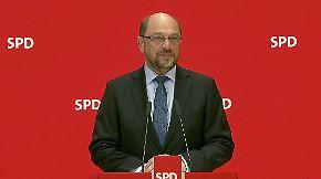"""Schulz zu Sellering-Rücktritt: """"Menschen sind verletzlich"""""""
