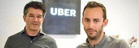 Uber-Chef Travis Kalanick hat Roboterauto-Entwickler Anthony Levandowski nach Diebstahlvorwürfen vor die Tür gesetzt.