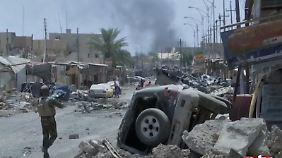 Neue Offensive irakischer Truppen: IS leistet erbitterten Widerstand