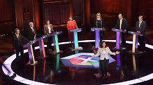 May schwänzt TV-Debatte: Vorsprung der Tories schrumpft weiter