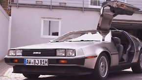 Kultauto mit filmreifer Markengeschichte: DeLorean-Liebhaber lädt zur Zeitreise ein