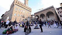 Aktion gegen Picknicker: Florenz will Touristen mit Wasser vergraulen