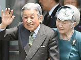 Sondergesetz verabschiedet: Japan macht Abdankung des Kaisers möglich