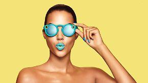 Knallbunte Kamera auf der Nase: Pop-Up-Kiosk bringt Snapchatbrillen nach Deutschland