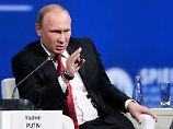 """Das ist alles Blödsinn"": Putin dementiert Verbindungen zu Trump"
