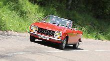 Mit dem Peugeot 304 Cabrio zur Geburtstätte der Löwenmarke.