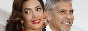 Tochter und Sohn: Die Clooneys sind Eltern