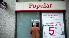 Banco Popular stand vor Crash: Santander kauft Krisenbank für einen Euro