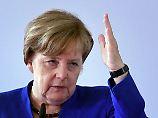 Hat zurzeit gute Aussichten auf eine vierte Amtszeit: Kanzlerin Merkel.