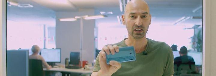 n-tv Ratgeber: Der erste Blick: HTC U11