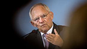 Bilanz nach acht Jahren: Schäuble tritt als Finanzminister ab