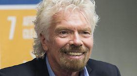 Richard Branson: Britischer Milliardär mit Hang zur Exzentrik.