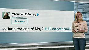 """n-tv Netzreporterin: Soziale Netzwerke feiern Corbyn und fordern """"Mayxit"""""""