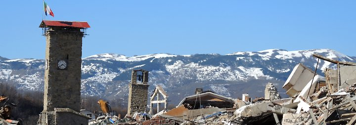 Stahlnetze gegen Naturgewalt: Forscher wollen italienische Dörfer vor Erdbeben retten