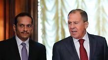 Verhärtete Fronten am Golf: Russland will im Katar-Konflikt vermitteln