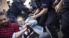 Umstrittenes Gesetz in Polen: Polizei löst Demo von Regierungsgegnern auf