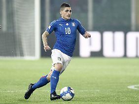 Marco Verratti ist 21-maliger italienischer Nationalspieler.