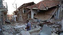 Nach Seebeben in Ägäis: Lesbos von kleinem Tsunami getroffen
