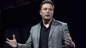 Schlechte Nachrichten kontert Elon Musk mit neuen, noch großartigeren Fernzielen.