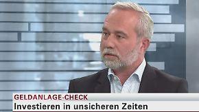 Geldanlage-Check: Uwe Zimmer, Kapitalmarktexperte Z-Invest