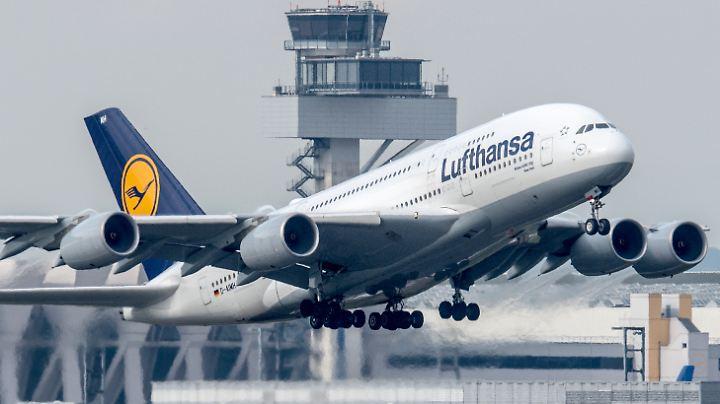 In Frankfurt starten bald fünf Flugzeuge des Typs A380 weniger.