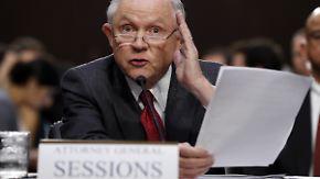 """""""Entsetzliche und abscheuliche Lüge"""": Sessions weist Vorwürfe in Russland-Affäre zurück"""