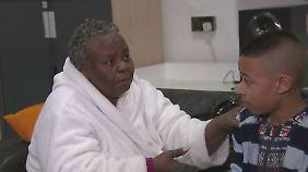 Hochhausbrand in London: Wie eine Großmutter und ihr Enkel sich retteten