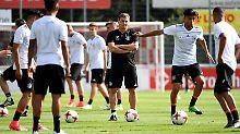 Stefan Kuntz trainert die U21-Nationalmannschaft erst seit vergangenem August - Zukunft offen.