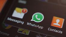 Innenminister sind sich einig: Ermittler sollen WhatsApp mitlesen können