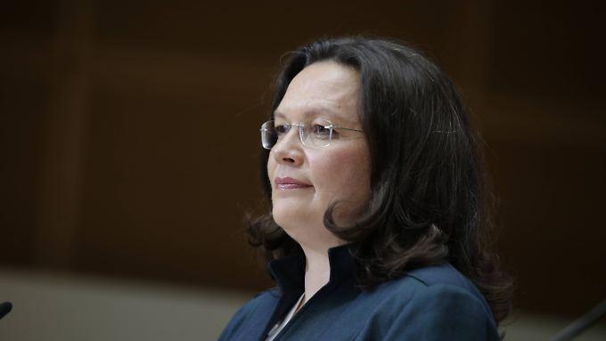 Andrea Nahles hat ihren Entwurf nicht durch das Kabinett bekommen.