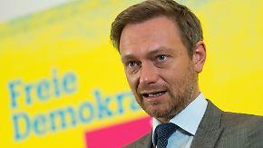 Zugpferd Lindner: Die FDP ist wieder da