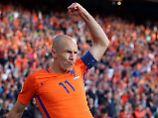 Für die Niederlande wird es in der WM-Qualifikation noch eng. Arjen Robben aber glaubt, dass er in Russland dabei sein wird.