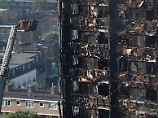 17 Tote nach Hochhausbrand: Feuerwehr unterbricht Vermisstensuche