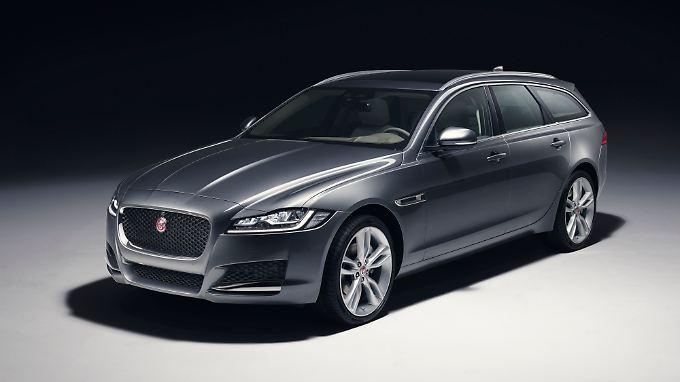 Ab Herbst 2017 wird es den Jaguar XF auch wieder als Kombi geben.