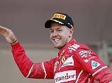 Mehr Anlässe zum Feiern als zum Trauern hat Sebastian Vettel in seinen zehn Jahren Formel 1 erlebt.