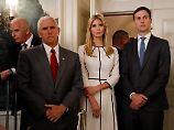 Russland-Verdacht im Weißen Haus: US-Vizepräsident Pence holt sich Beistand