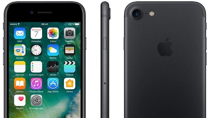 Phishing-Gangster benutzen das iPhone gerne als Lockmittel.
