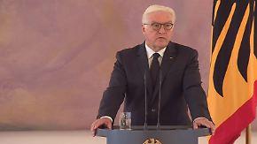 """Steinmeier zum Tod des Altkanzlers: """"Staatsmann, der Historisches für unser Land erreicht hat"""""""