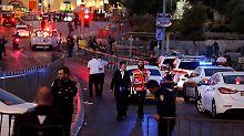 IS reklamiert Anschläge für sich: Polizistin und Attentäter sterben in Jerusalem