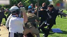 Polizei ist vor G20-Gipfel gewarnt: Hamburg zeigt klare Kante gegen Erdogans prügelnde Bodyguards