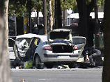 Attacke auf Champs-Élysées: Polizei findet Waffenlager bei Attentäter