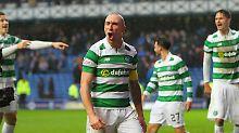 Celtic-Urgestein Scott Brown und sein Team erwartet möglicherweise eine brisante Partie in der Champions-League-Qualifikation.