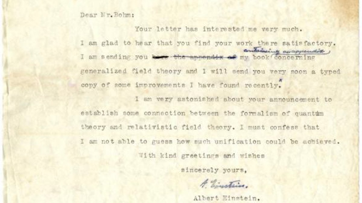 Briefe Eintüten : Briefe von albert einstein für rund euro versteigert