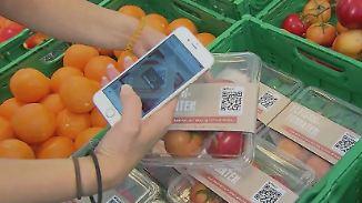 Besuch im Supermarkt der Zukunft: Virtuelle Helfer sollen das Einkaufen erleichtern