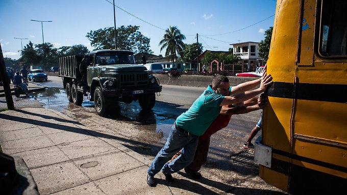 Im Schneckentempo: Für Investoren gibt es in Kuba viele Hürden - das bremst die Wirtschaft.