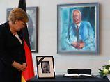 Trauerakt für Alt-Bundeskanzler: Kohls Witwe wollte keine Merkel-Rede