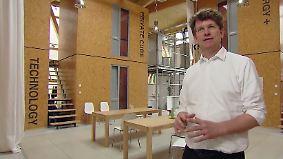 Test-Modell für billiges Wohnen: Studenten leben in 7,2-Quadratmeter-Wohnboxen