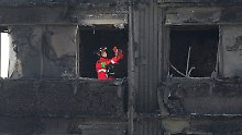 Untersuchung nach London-Brand: Hunderte Häuser haben brennbare Fassade