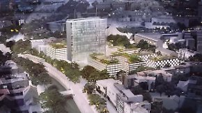 Mini-Appartements statt Büros: Investoren planen Dorf in Berliner Hochhaus